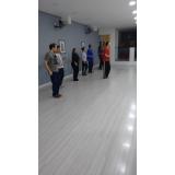aula de dança de salão para iniciantes preço Centro