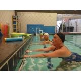 aula de hidroginástica exercícios Sé