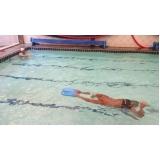 aula de natação avançada Brás