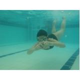 aula de natação e hidroginástica preço Santa Cecília