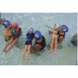 aula de natação infantil 2 anos Glicério