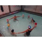aula de natação para 2 anos preço Aclimação