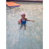aula de natação para bebe de 2 anos Jardim Europa