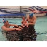 aula de natação para bebês preço Luz