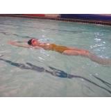 aula de natação para intermediários preço Consolação