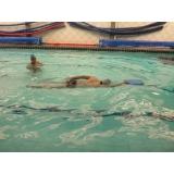 aula de natação preço Campo Belo