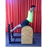 aula de pilates aparelho para iniciantes Glicério