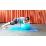 aula de pilates com a bola preço Centro