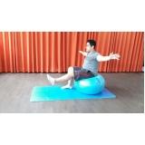 aula de pilates com bola preço Luz