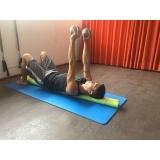 aula de pilates com rolo preço Brás