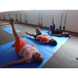 aula de pilates para idosos preço Jardim Paulistano
