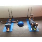 aula de pilates solo preço Glicério