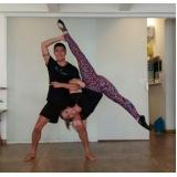 aula de yoga em dupla Higienópolis