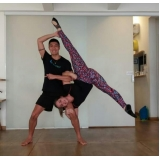 aula de yoga fitness Saúde
