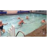 aula de hidroginástica exercícios