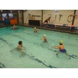 aulas de hidroginástica para terceira idade Saúde