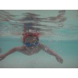 aula de natação avulsa