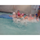 aulas de natação infantil Aeroporto