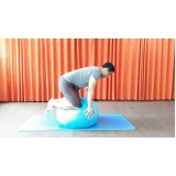 aula de pilates aéreo