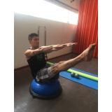 aula de pilates avançado