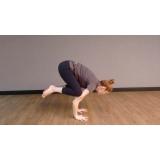 Aula de Yoga Academia