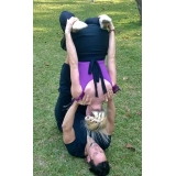 aula de yoga fitness