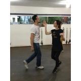 dança de salão casal