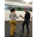 dança de salão para a terceira idade