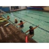 escola de natação e hidroginástica preço Sé