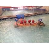 escola de natação infantil Santa Cecília