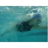 escola de natação para competição Sé