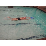 escola de natação para emagrecer Sé