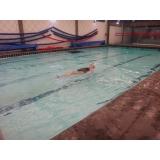 escola de natação para idosos Higienópolis