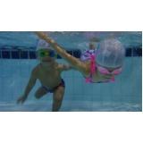 escolas de natação e ginástica Aeroporto