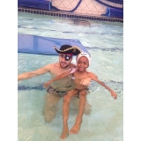 escola de natação e ginástica