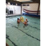 onde encontrar escola de natação e hidroginástica Santa Cecília