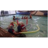 onde encontrar escola de natação infantil Saúde