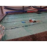 onde encontrar escola de natação para adultos Glicério