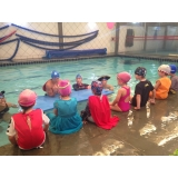 onde encontrar escola de natação para iniciantes Campo Belo