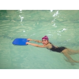 onde encontrar escola de natação Santa Cecília