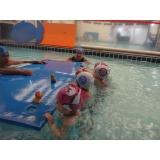 onde fazer aula de natação infantil 2 anos Centro