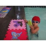 quanto custa aula de natação para bebe de 2 anos Centro