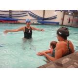 quanto custa aula de natação para bebês Ibirapuera