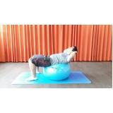 quanto custa aula de pilates com bola Itaim Bibi