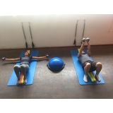 quanto custa aula de pilates com rolo Brooklin